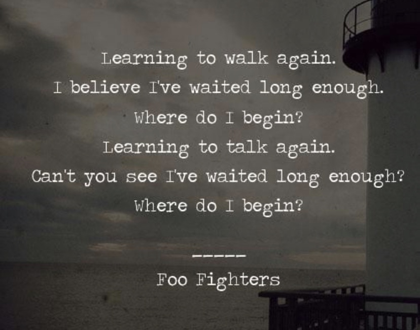 Gym playlist #8. Walk. (Foo Fighters)