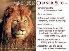 Affirmation…Lionart